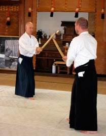 Aikido training for other Aikido clubs